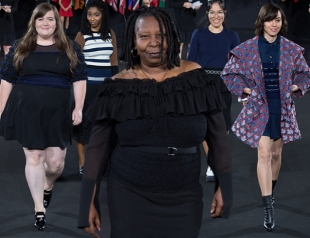 New York Fashion Week: Вупи Голдберг на подуиме, нестандартные модели и политика на шоу Opening Ceremony