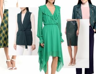 Зеленый – новый черный: подборка стильной одежды в одном из модных цветов осени 2016