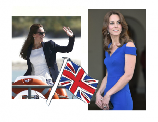 Самая стильная британка: лучшие выходы Кейт Миддлтон в 2016 году