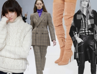 Готовимся к холодам: с чем носить модные тренды зимы 2016/17
