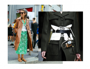 Корсеты на Неделе моды в Милане