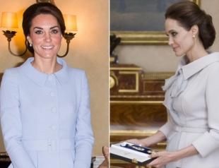 Кейт Миддлтон скопировала образ Анджелины Джоли, чтобы обратить на себя внимание мужа