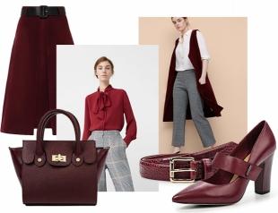 Время носить бордо: подборка стильной одежды в вечно модном цвете осени 2016
