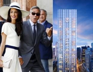 Амаль и Джордж Клуни приобрели квартиру в Нью-Йорке: фото роскошного жилища пары