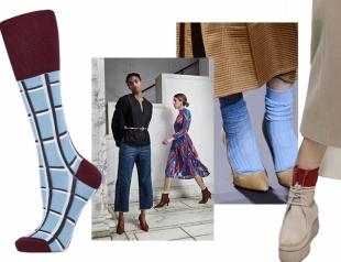Как носки стали частью модного образа: примеры и образы для зимы