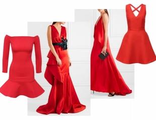 В чем встречать Новый год: 16 красных платьев на любой вкус
