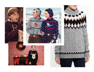 Рождественский свитер для новогодних каникул: где купить и с чем носить