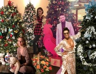 Новый год 2017: самые красивые елки знаменитостей (Джамала, Бородина, Собчак, Лазарев и другие)