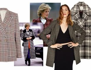 Королевский окрас: носим самый модный принт зимы не хуже, чем принцесса Диана