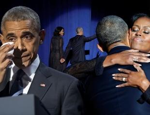 25 лучших лет любви к Мишель: Барак Обама прослезился во время прощальной речи – перевод трогательных слов президента