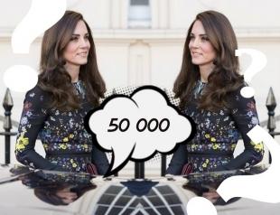 Уместно или нет: Кейт Миддлтон на благотворительном брифинге в платье за 50 тысяч грн