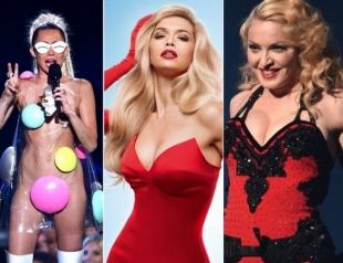 Пикантное выступление MamaRikа в полуфинале Нацотбора на Евровидение 2017: вспоминаем звезд, которые тоже показали грудь