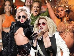 Лучшие образы Грэмми-2017: королева-мать Бейонсе, триумфатор Адель, Леди Гага, Джей Ло, Рианна и другие