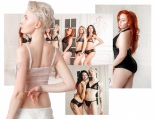 Где одеться в Украине: необычные модели в кампейне бодизипозитивной марки нижнего белья Megami Lingerie