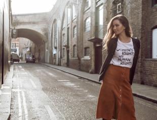 Где одеться в Украине: феминистские футболки и права женщин в весенней коллекции GRASS