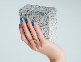Нежная весна: модный маникюр в голубых тонах (ФОТО 50+)