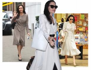 Библиотека-стайл: новый «профессорский» стиль Анджелины Джоли