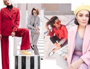 Как модные девушки одеваются весной: 48 стильных образов из Instagram