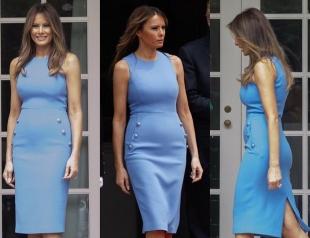 Икона стиля: новый образ Мелании Трамп снова восхитил поклонников (ФОТО)