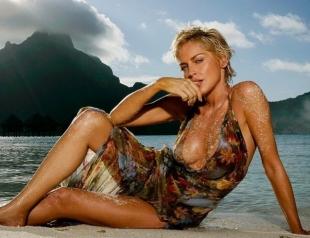 59-летняя Шэрон Стоун соблазняет фигурой в бикини (ФОТО)