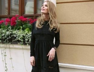 Ольга Фреймут выступила за кормление грудью в общественных местах (ФОТО)