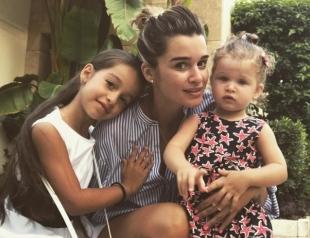 Младшая дочь Ксении Бородиной Теона назвала ее плохой мамой (ВИДЕО)