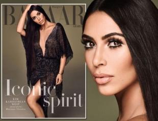 Ким Кардашьян появилась на обложке глянца в образе молодой Шер (ФОТО)