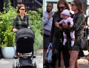 Мамочка-супермодель Ирина Шейк пропускает Неделю моды в Нью-Йорке: первое фото дочери
