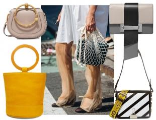 Модные сумки осени: актуальные формы и размеры