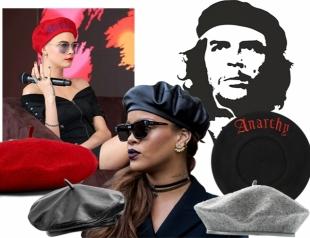 Viva comandante: как по-модному носить береты этой осенью