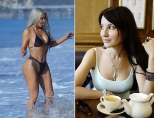 Лена Миро прокомментировала фигуру с целлюлитом у Ким Кардашьян: Туша у нее безобразная, что очень тщательно скрывает волшебный фотошоп