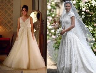 Большие надежды: Меган Маркл хочет свадебное платье, как у сестер Миддлтон, чтобы войти в историю