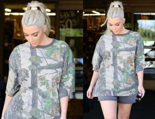 Ким Кардашьян раскритиковали за дряблые ноги с целлюлитом в коротких шортах (ФОТО)
