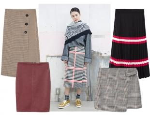 Горячее на зиму: какие юбки носить зимой и как их сочетать с сапогами и другой обувью