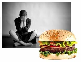 Подумай над тем, что ты ешь или как фастфуд может вызывать депрессию