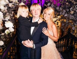 Евгений Плющенко мечтает о втором ребенке от Яны Рудковской