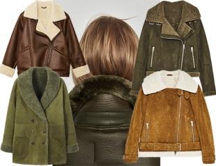 Не пухом деланные: модные дубленки на зиму