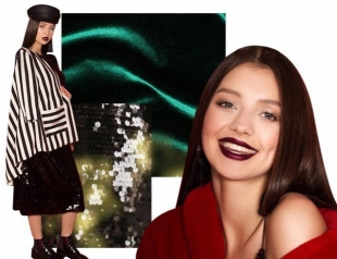 Бархат и пайетки: «Мисс Украина»-2017 Полина Ткач показывает, как удобно одеться на Новый год