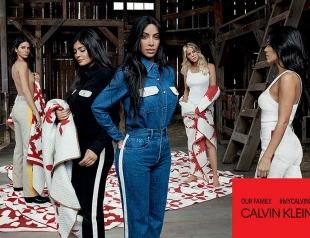 Сестры Кардашьян в полном составе снялись для рекламной кампании Calvin Klein (ФОТО)
