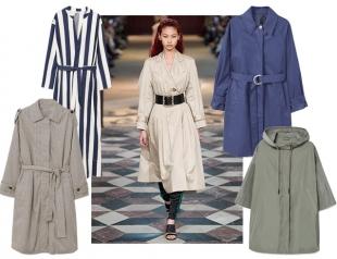 Модный тренд — модный тренч: макинтош нового поколения