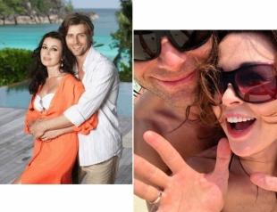 Анастасия Заворотнюк и Петр Чернышев наслаждаются идиллией и райским отдыхом на Мальдивах (ВИДЕО)