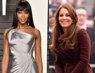 Модная битва: как Наоми Кэмпбелл превзошла Кейт Миддлтон? (ФОТО)