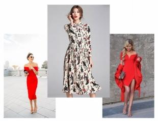 Как одеться на 8 марта: стильные платья