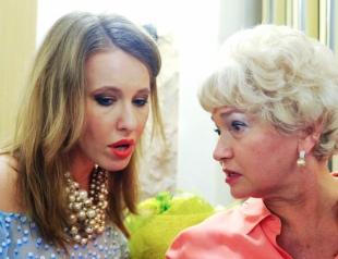 Маме пришлось оправдываться из-за скандального прошлого Ксении Собчак