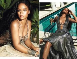 Похудевшая Рианна появилась на обложке Vogue