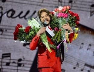 Филипп Киркоров засветил торс во время гастролей (ВИДЕО)