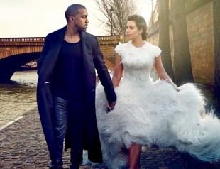 Ким Кардашьян трогательно поздравила мужа с годовщиной свадьбы