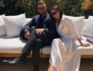 Дэвид и Виктория Бекхэм продают наряды со свадьбы принца Гарри и Меган Маркл