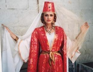 Ольга Сумская снова стала Роксоланой (ВИДЕО)