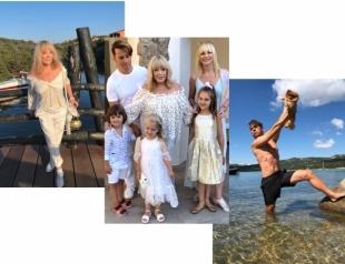 Максим Галкин, Алла Пугачева, Кристина Орбакайте с детьми отдыхают в Греции: семейные выходы в свет и соблазнительные танцы (ВИДЕО)